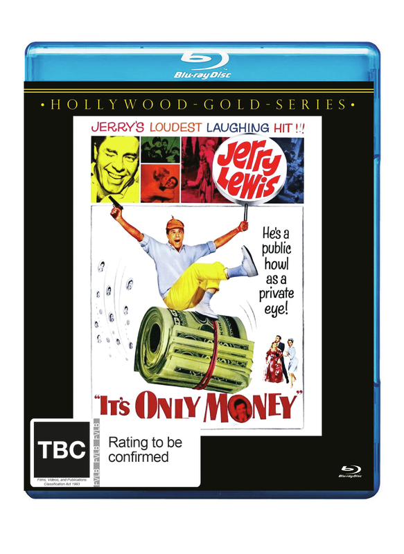 It's Only Money on Blu-ray