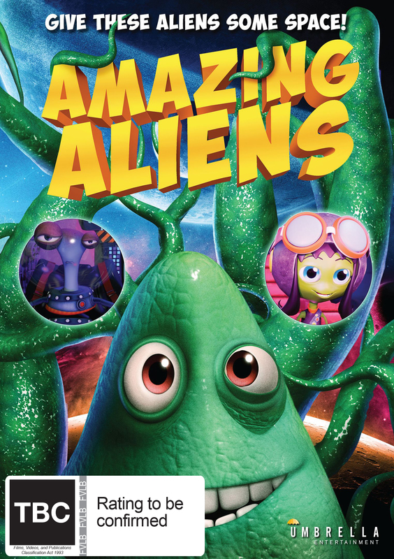 Amazing Aliens on DVD
