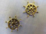 Billing Boats Wheel 25mm Brass (2x)
