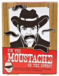Pin the Moustache on the Cowboy image