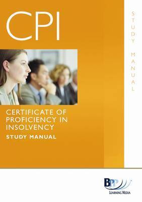 Certificate of Proficiency in Insolvency: Question Bank by BPP Learning Media