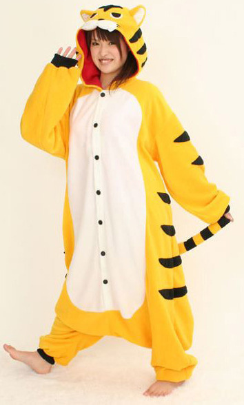 Tiger Kigurumi Onesie - Summer Version