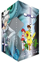 Final Fantasy Unlimited - Phase 1 + Collector's Box on DVD