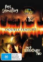 Pet Sematary / Pet Sematary Two - Double Feature (2 Disc Set) on DVD