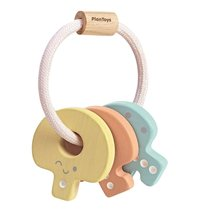 Plan Toys: Key Rattle - Pastel