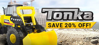 20% off Tonka!