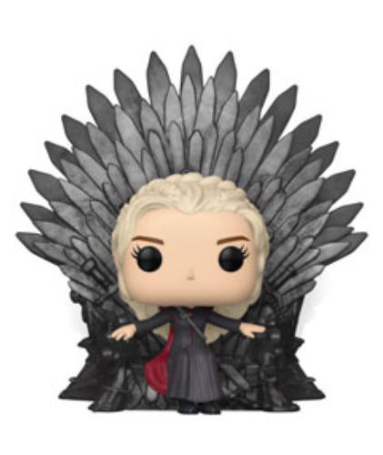 Game of Thrones: Daenerys Targaryen (Iron Throne) - Pop! Deluxe Figure