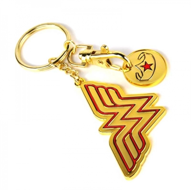 Wonder Woman: Keyring Trolley Coin (Stars) image