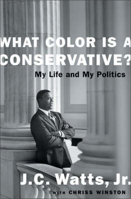 What Color is a Conservative? by J.C. Watts image