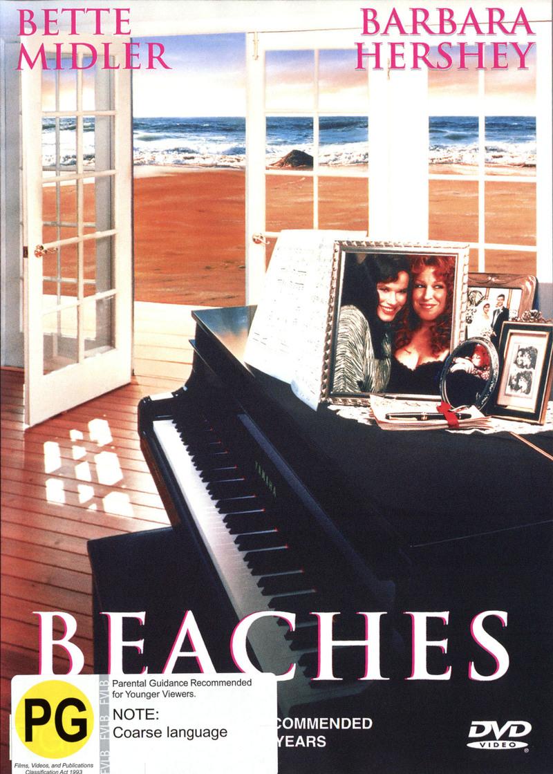 Beaches on DVD image