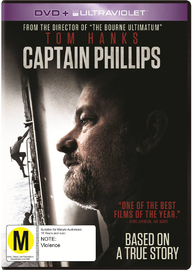 Captain Phillips on DVD