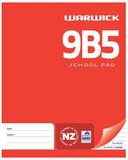 Warwick 9B5 36lf 7mm Ruled School Pad