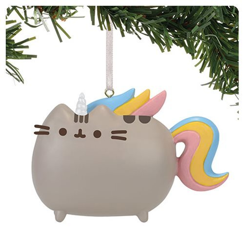 Pusheen the Cat - Magical Unicorn Ornament image
