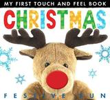 My First Touch And Feel Book: Christmas by Little Tiger Press