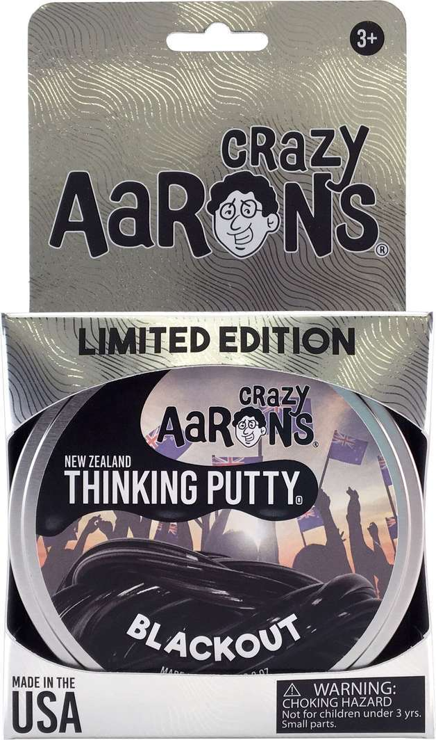 Crazy Aaron's Thinking Putty: Blackout New Zealand image