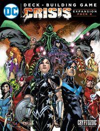 DC Comics: Deck-Building Game - Crisis Expansion #4