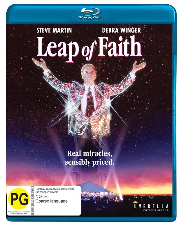 Leap Of Faith on Blu-ray