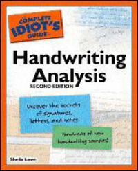 The Complete Idiot's Guide to Handwriting Analysis by Sheila Lowe image