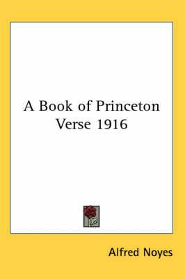 A Book of Princeton Verse 1916 image