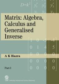 Matrix by A, K Hazra