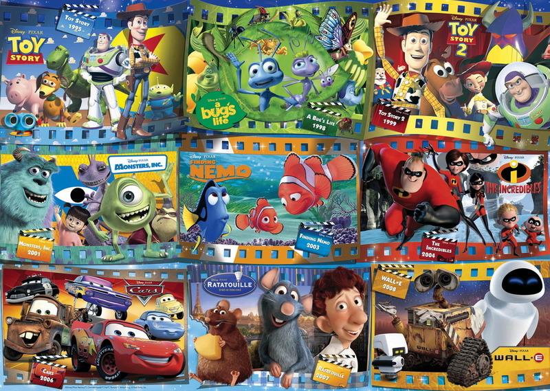 Ravensburger 1000 Piece Jigsaw Puzzle - Disney Pixar Montage image