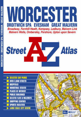 Worcester Street Atlas by Great Britain