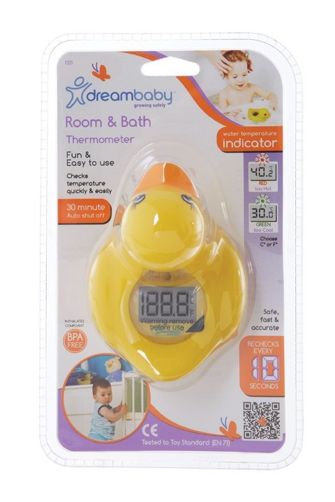 Dream Baby Duck Room & Bath Thermometer image