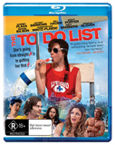 The To Do List on Blu-ray
