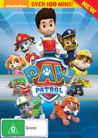 PAW Patrol on DVD