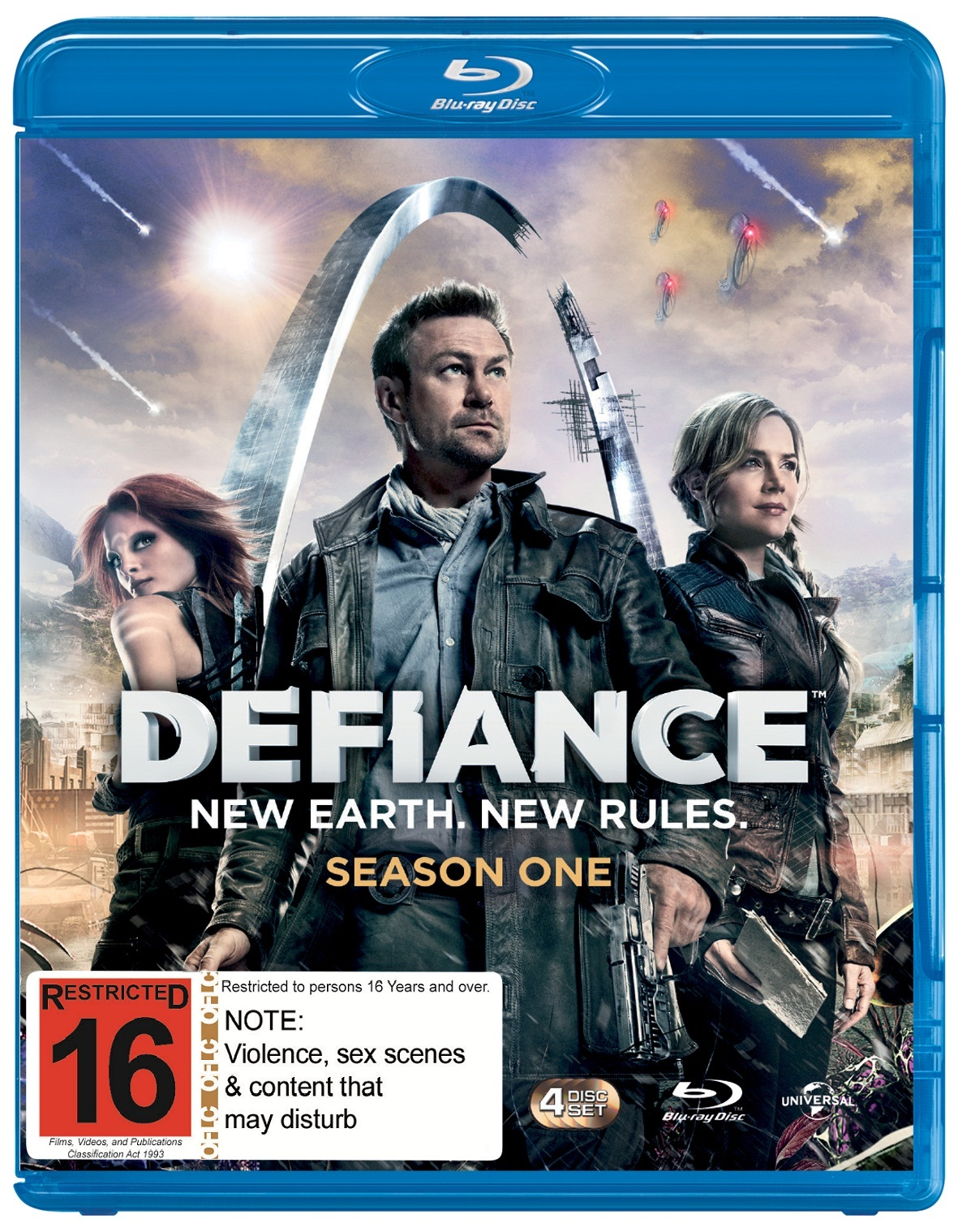 Defiance - The Complete First Season on Blu-ray image