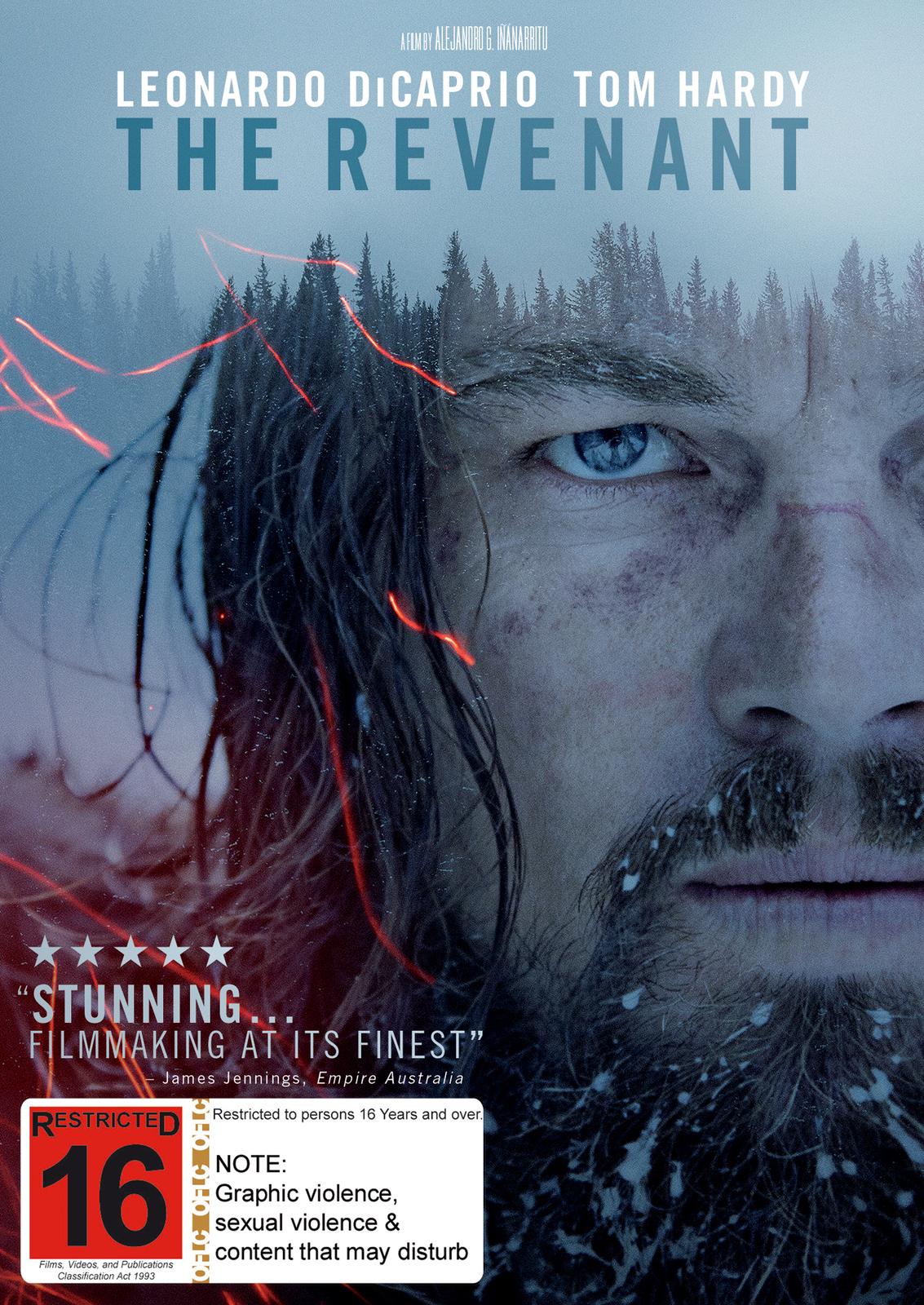 The Revenant on DVD image