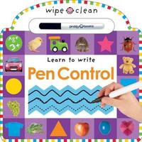 Wipe Clean Tracing and Pen Control by Roger Priddy