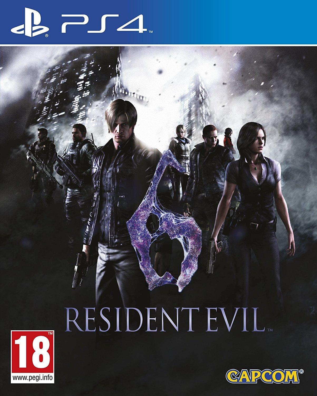 Resident Evil 6 for PS4 image