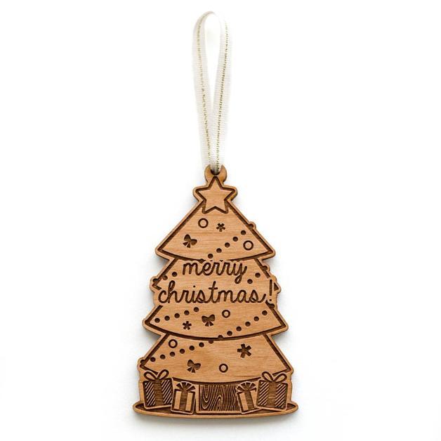 Cardtorial Christmas Ornament - Christmas Tree