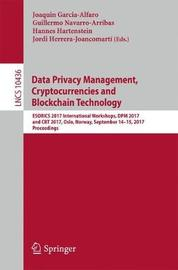 Data Privacy Management, Cryptocurrencies and Blockchain Technology image