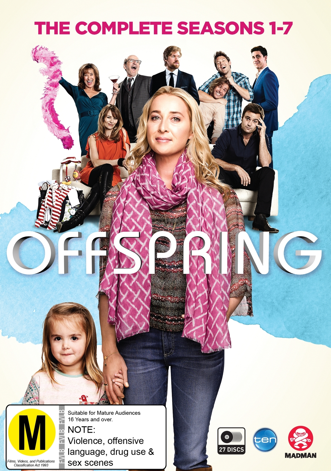 Offspring - Season 1-7 Box Set on DVD image