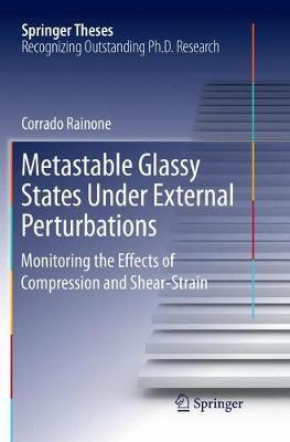 Metastable Glassy States Under External Perturbations by Corrado Rainone