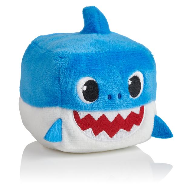 """Baby Shark: 3"""" Sound Cube Plush - Daddy Shark"""