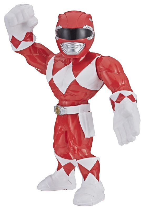 """Playskool Heroes: Mega Mighties - Red Ranger 10"""" Figure"""