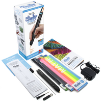 3Doodler: Create+ Essentials 3D Printing Pen Set - Onyx Black