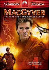 MacGyver - Complete Season 4 (5 Disc Box Set) on DVD