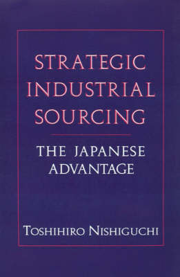 Strategic Industrial Sourcing by Toshihiro Nishiguchi image