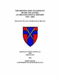 The British Army in Germany by Graham Watson image