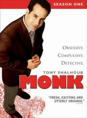 Monk - Season 1 (4 Disc Box Set) on DVD