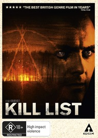 Kill List on DVD image