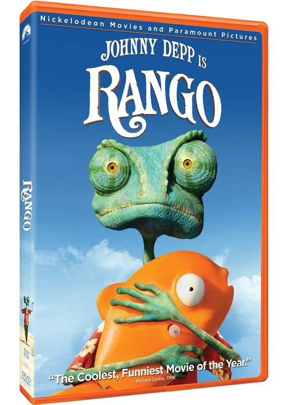 Rango on DVD