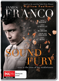 The Sound and the Fury on DVD