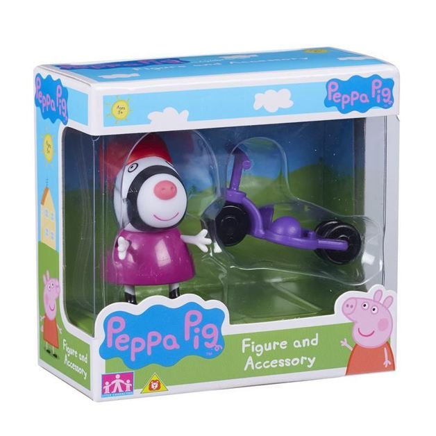 Peppa Pig: Figure and Accessory Pack - Zoe & Bike