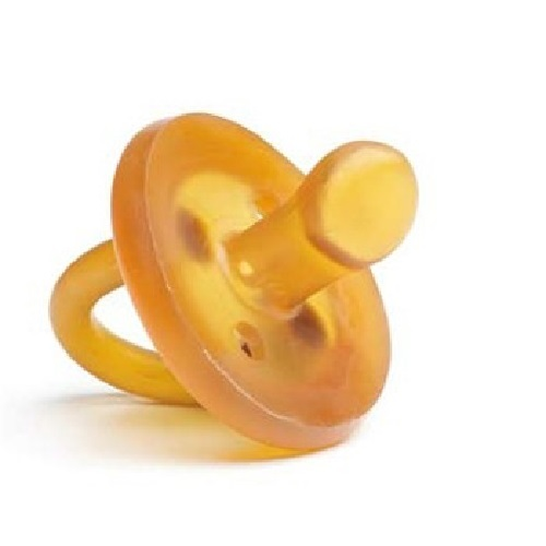 ecoPacifier: Natural Rubber Dummy - Orthodontic (6 mths +) image