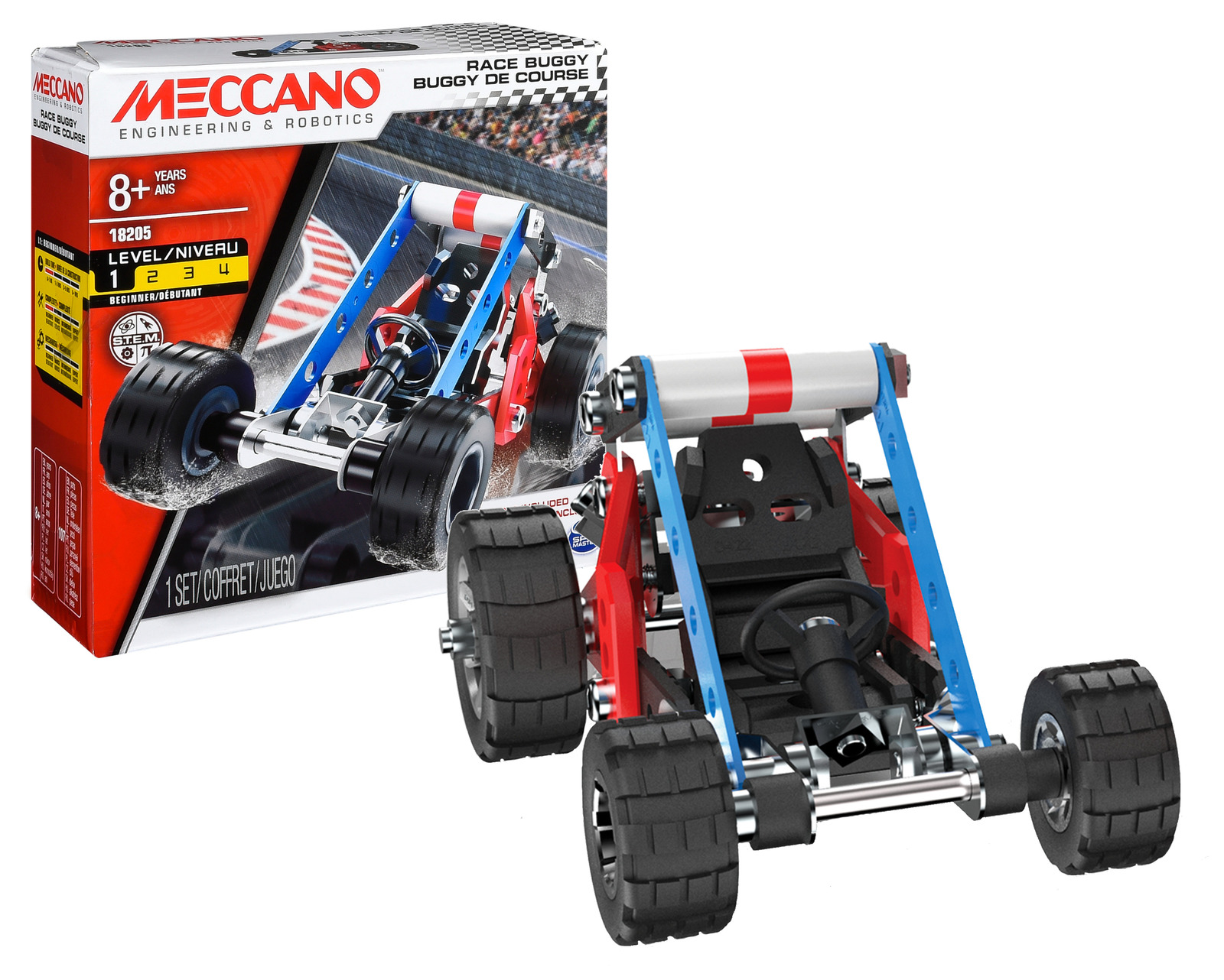 Meccano: Race Buggy Building Kit image